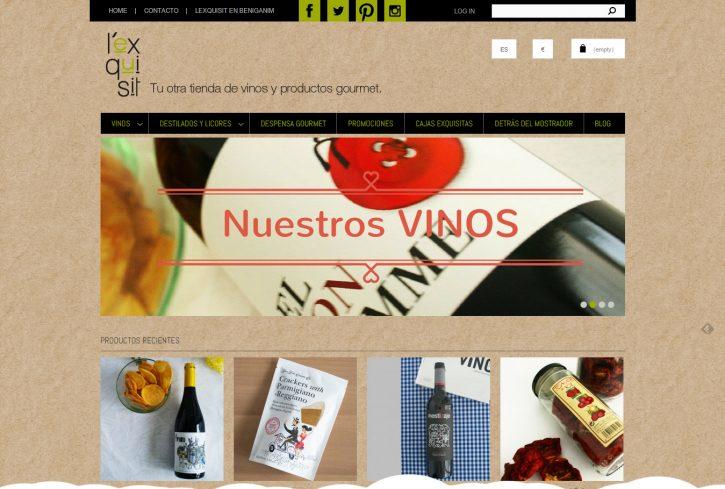 www.lexquisit.com Tu otra tienda de vinos